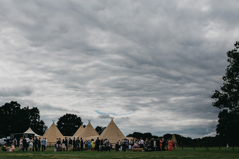 Sunny wedding in a tent - Wedding photographer Hampshire 60
