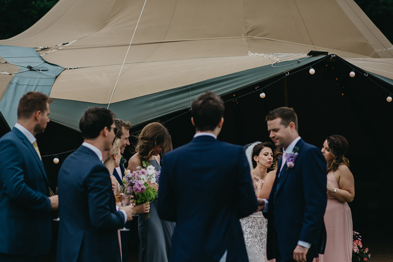 Sunny wedding in a tent - Wedding photographer Hampshire 61