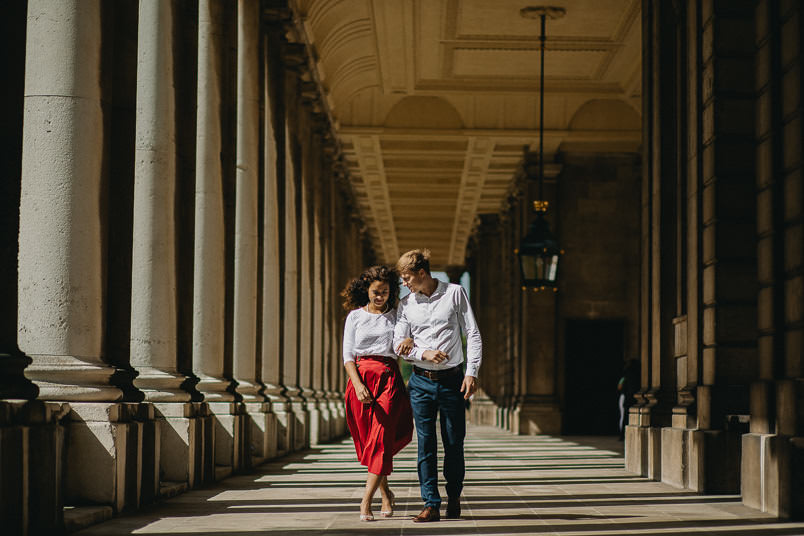 Talei & Alex - Engagement photoshoot Greenwich 8
