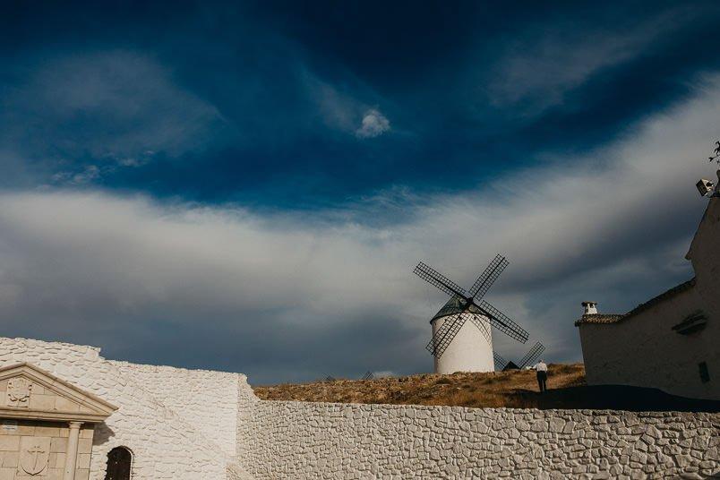 Windmill in campo de criptana