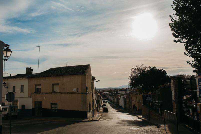 street in campo de criptana
