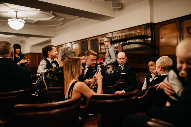 Pub wedding - London wedding photographer 35