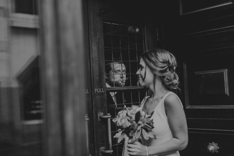 Pub wedding - London wedding photographer 50