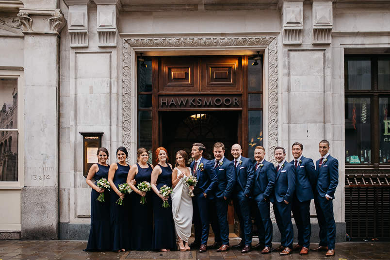 Pub wedding - London wedding photographer 51