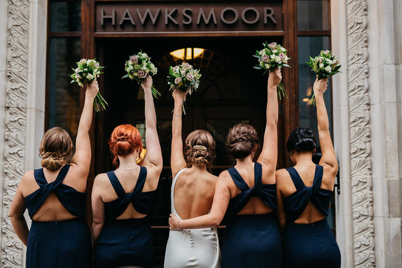 Pub wedding - London wedding photographer 53