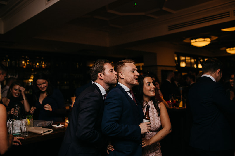 Pub wedding - London wedding photographer 57