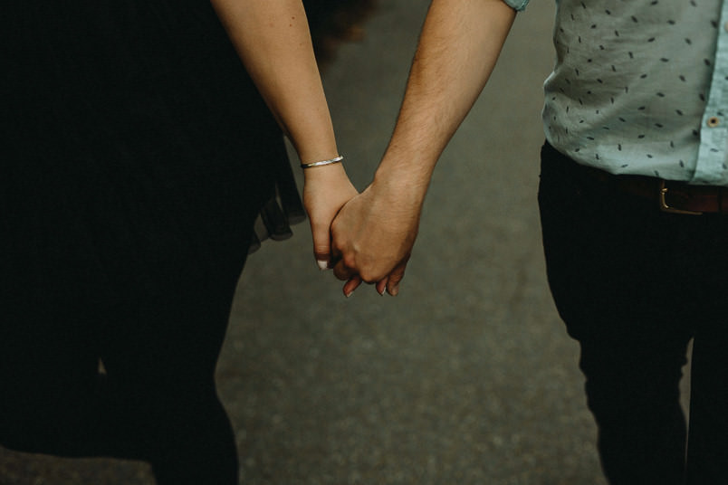 Couple in Regents Park