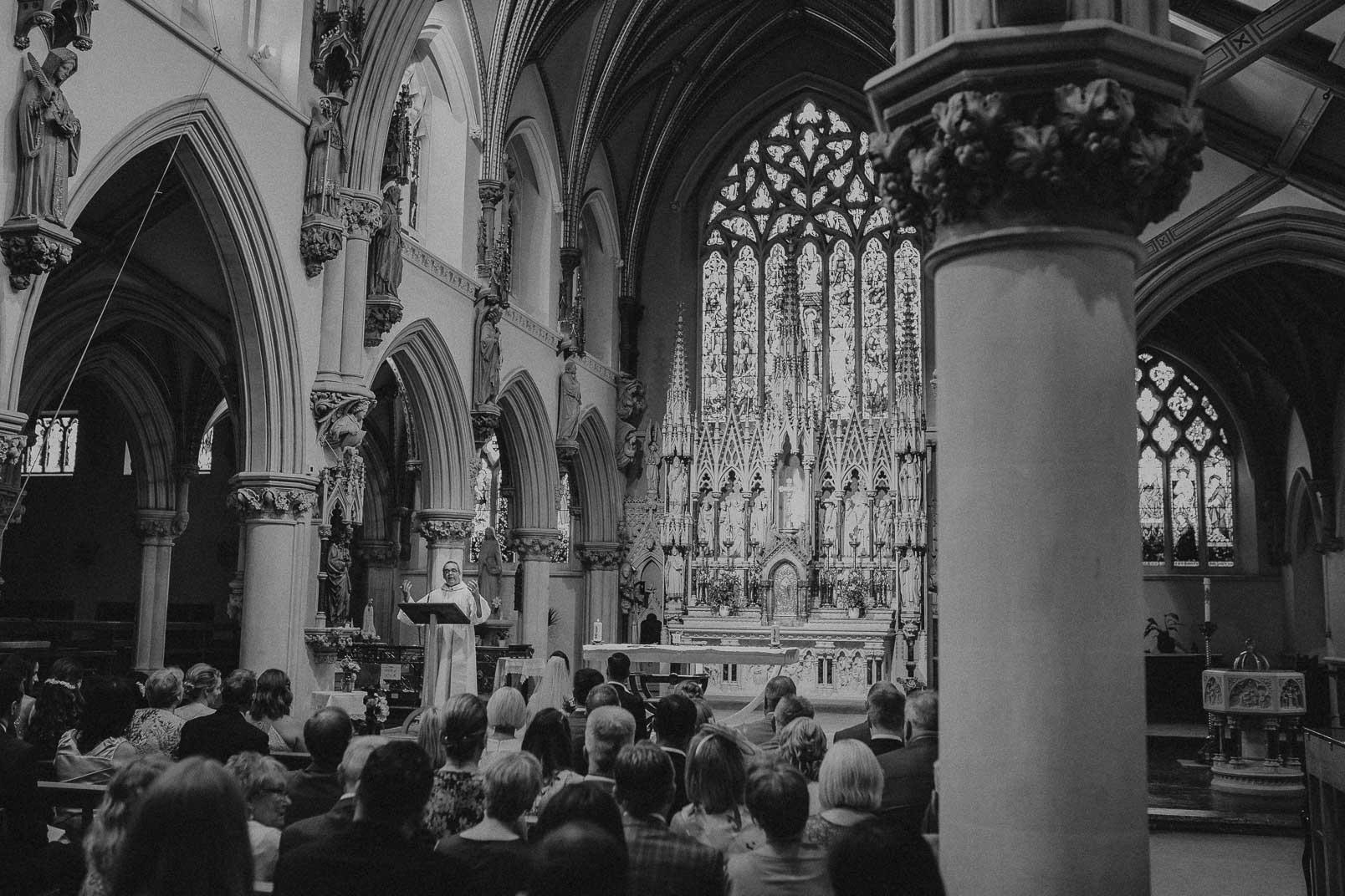 father speak in church