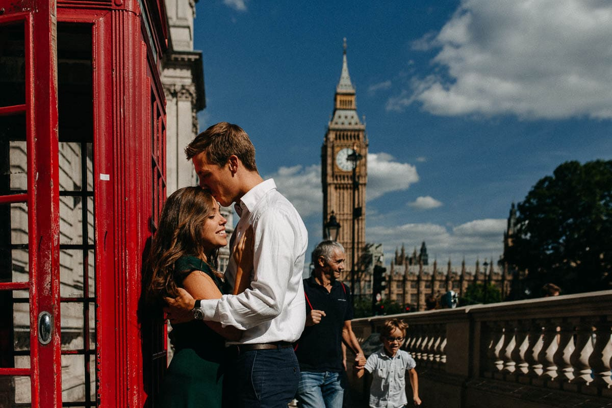Couple in Central London