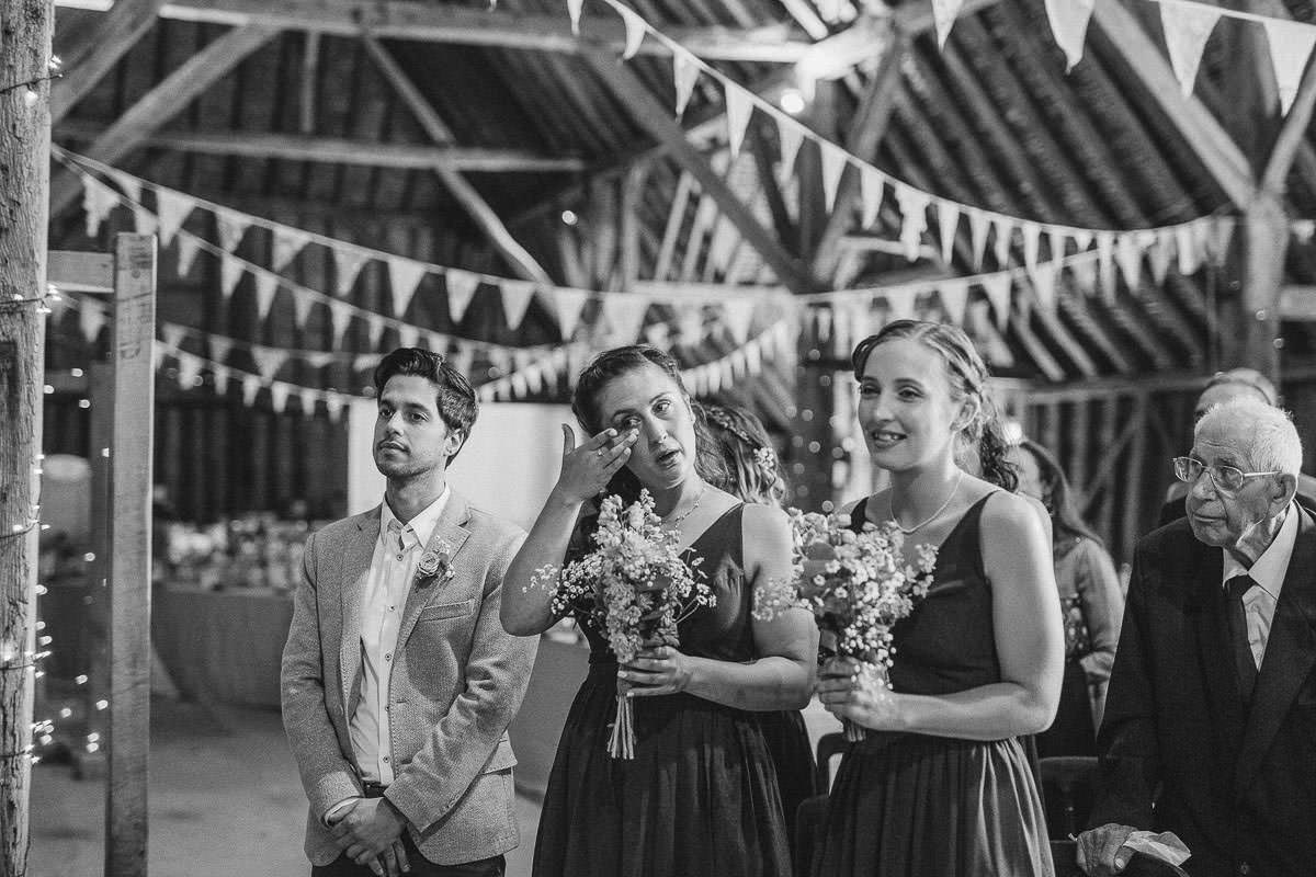 coggeshall grange barn wedding ceremony