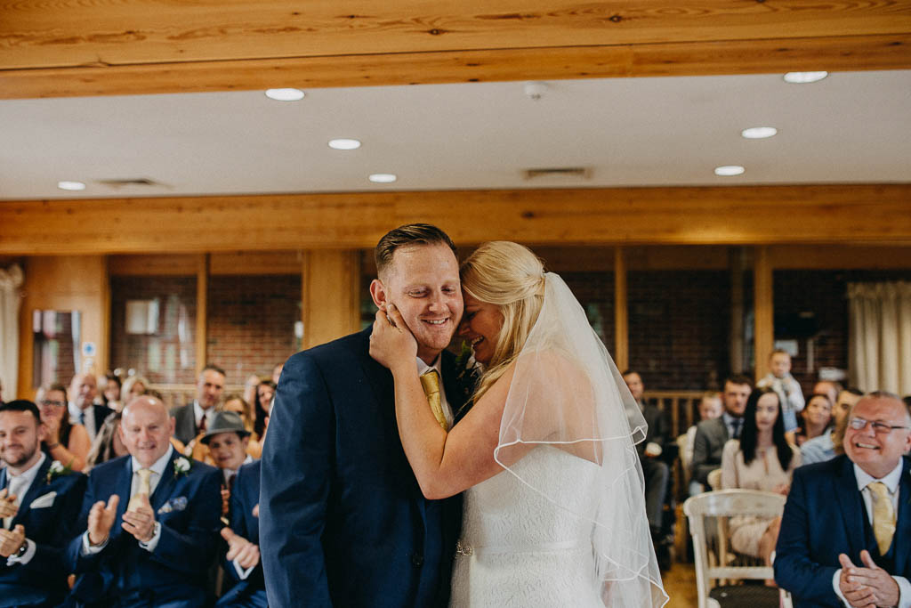 Surrey national golf club wedding photographer