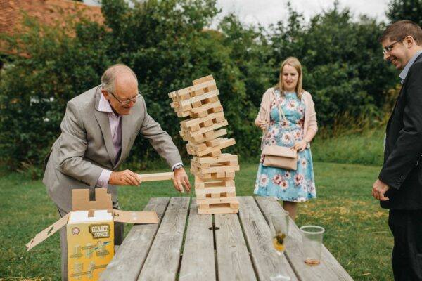 How outdoor wedding games will change your reception