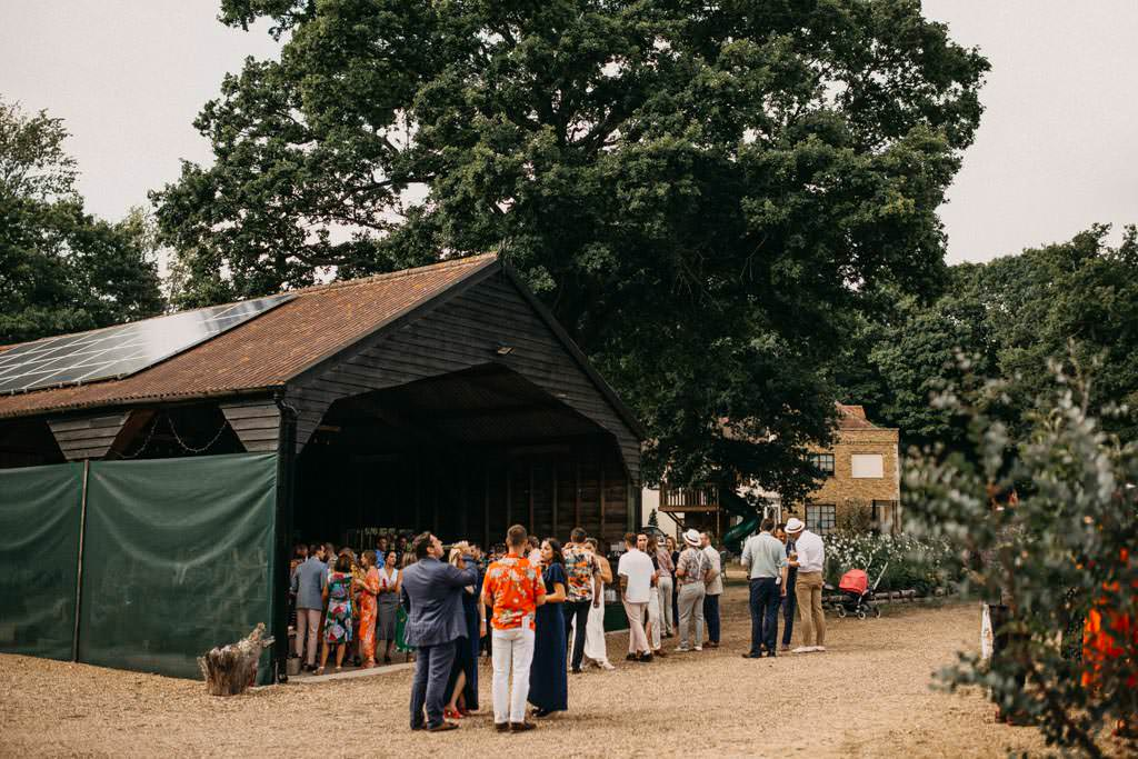 Captains wood barn wedding photography