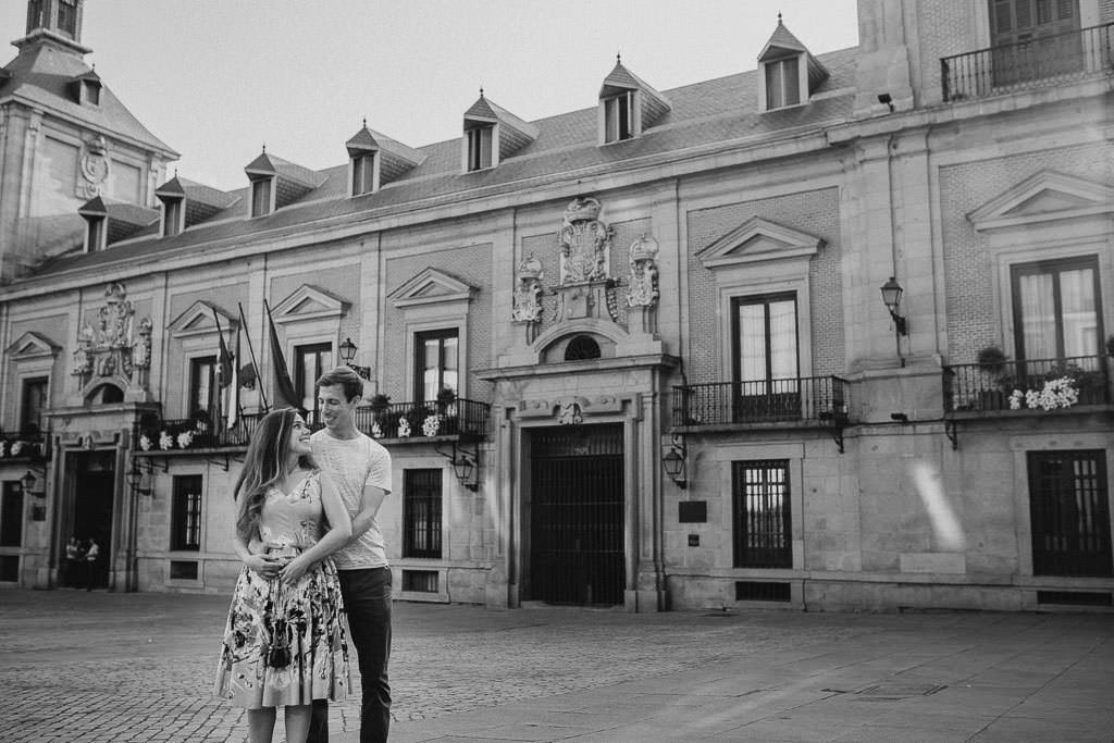 Engagement photos Madrid