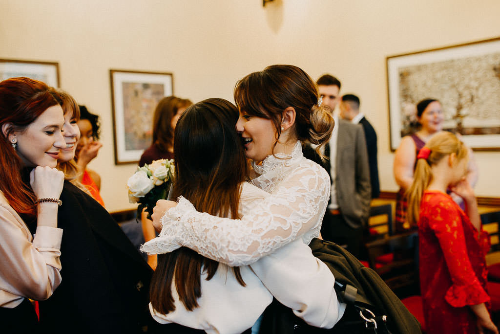 Wedding at Islington town hall