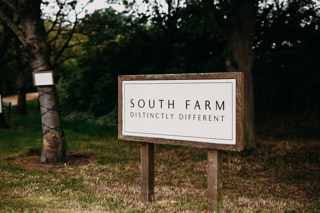 South farm wedding photographer - wedding at south farm