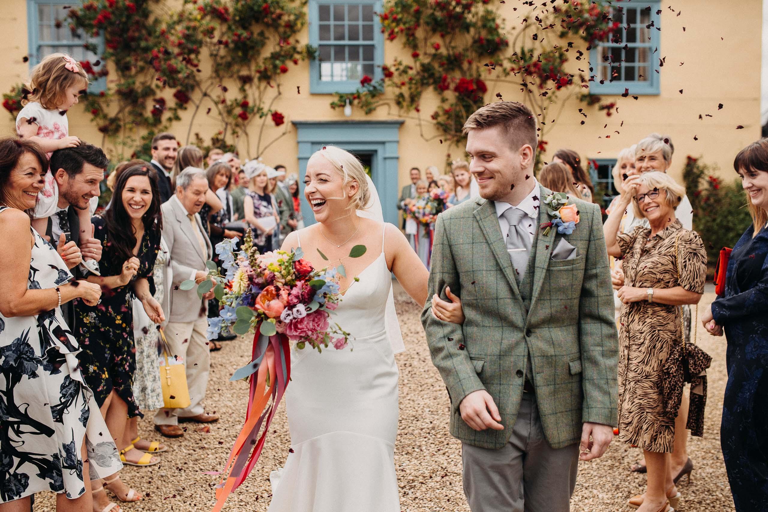 South Farm wedding photographer 1