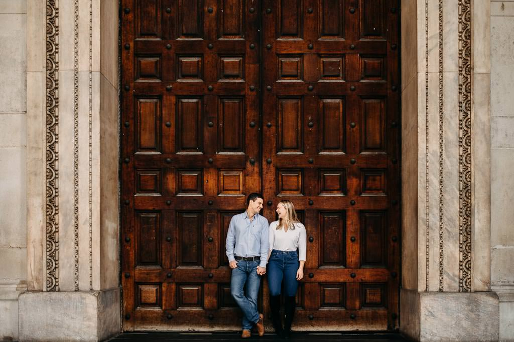 Engagement photos in Central London