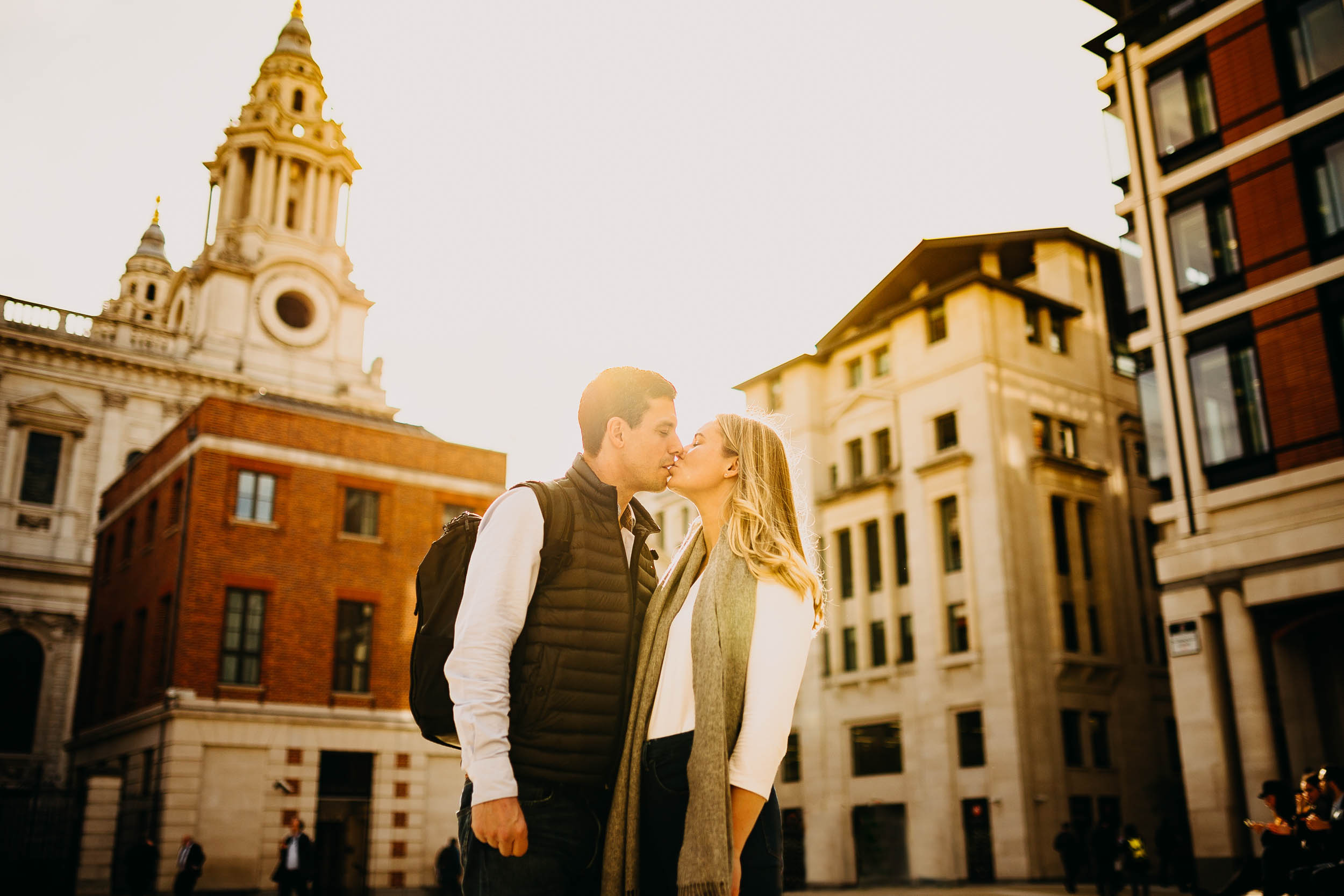 Engagement photos in Central London 1