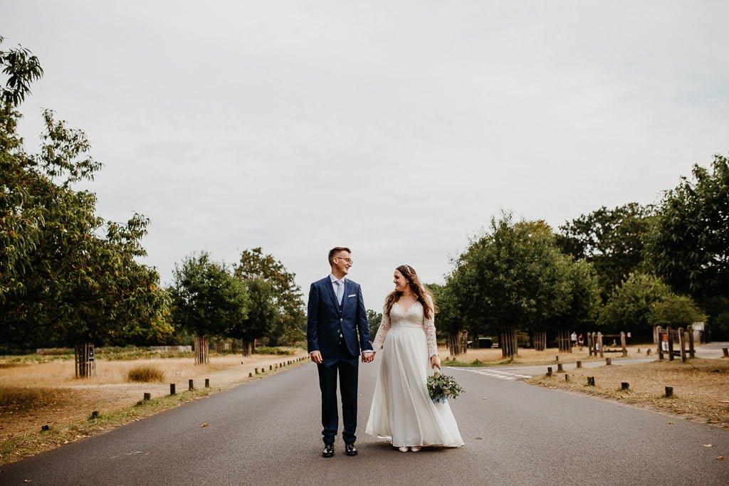 Richmond Park wedding