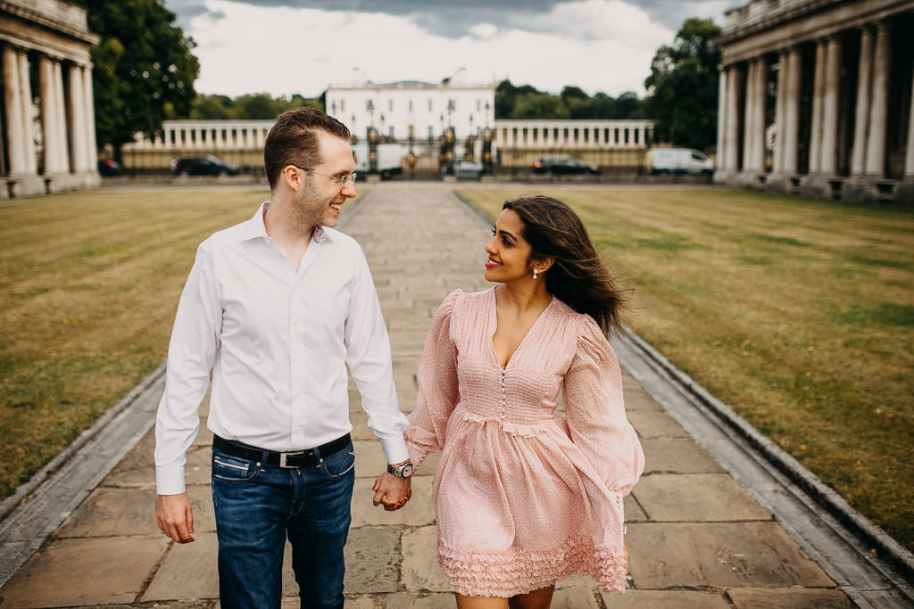 Wedding photos in Greenwich