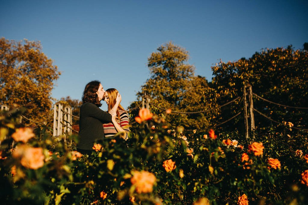Autumn engagement photos